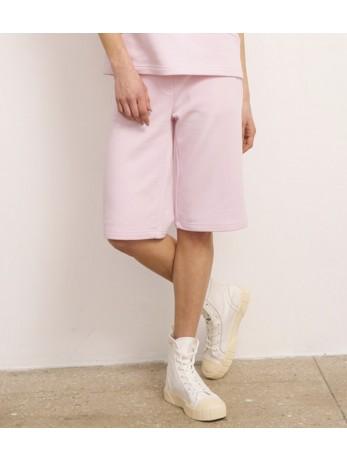 Шорты хлопковые с Лого; нежный розовый