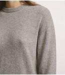 Джемпер кашемировый classic; серый