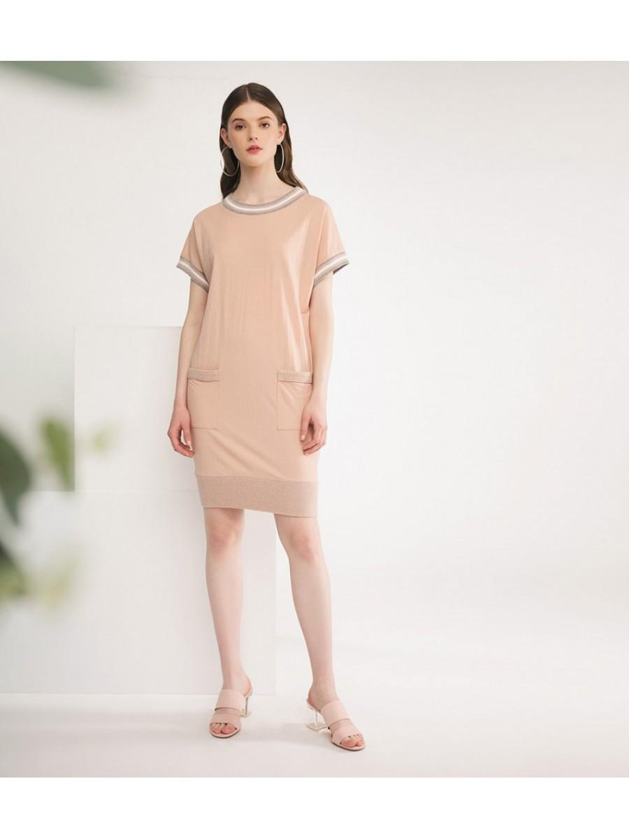 Платье Brillare; пудра