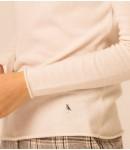 Джемпер кашемировый с хомутом 2020; белый