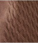 Джемпер с косами кашемировый; тауп