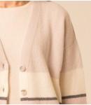 Кардиган кашемировый 4-х цветной; лиловый