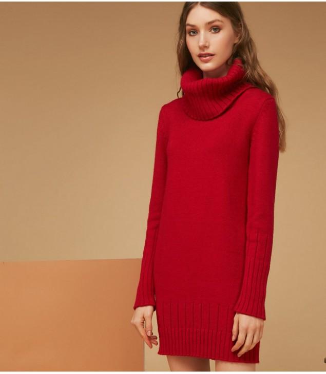 Платье-туника Alpaca; красный