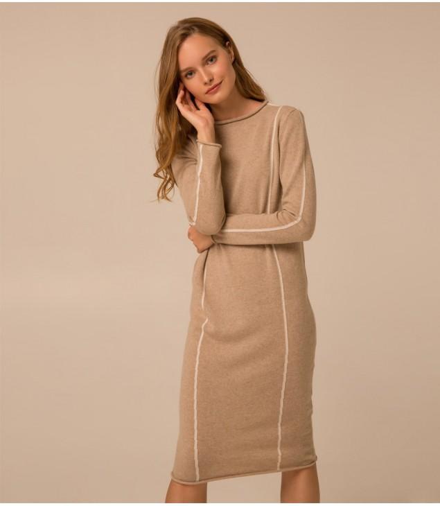 Платье Lungo; тауп