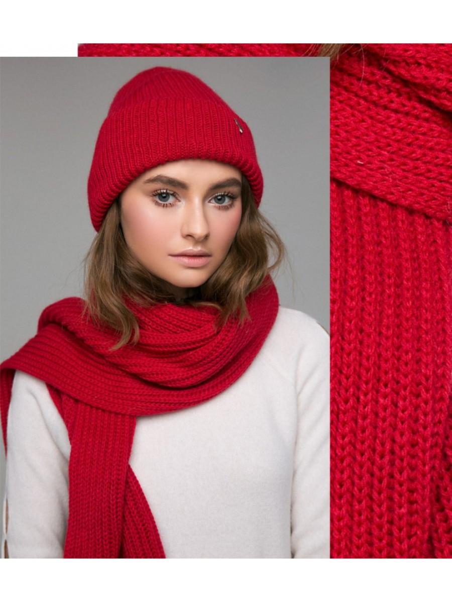 Шапка Alpaca; красный