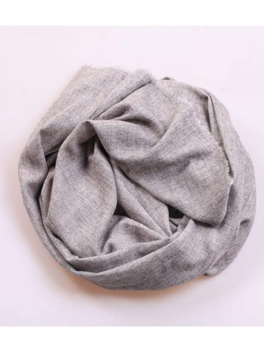 Шарф вуальный 0404; серый; размер: 200*80