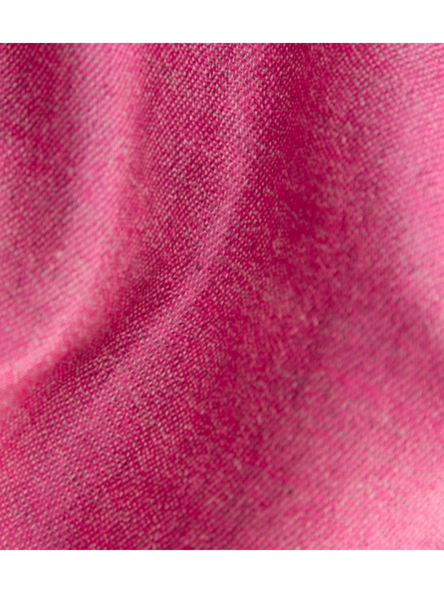 Шарф двусторонний 0374; розово / графитовый, размер 200 * 80