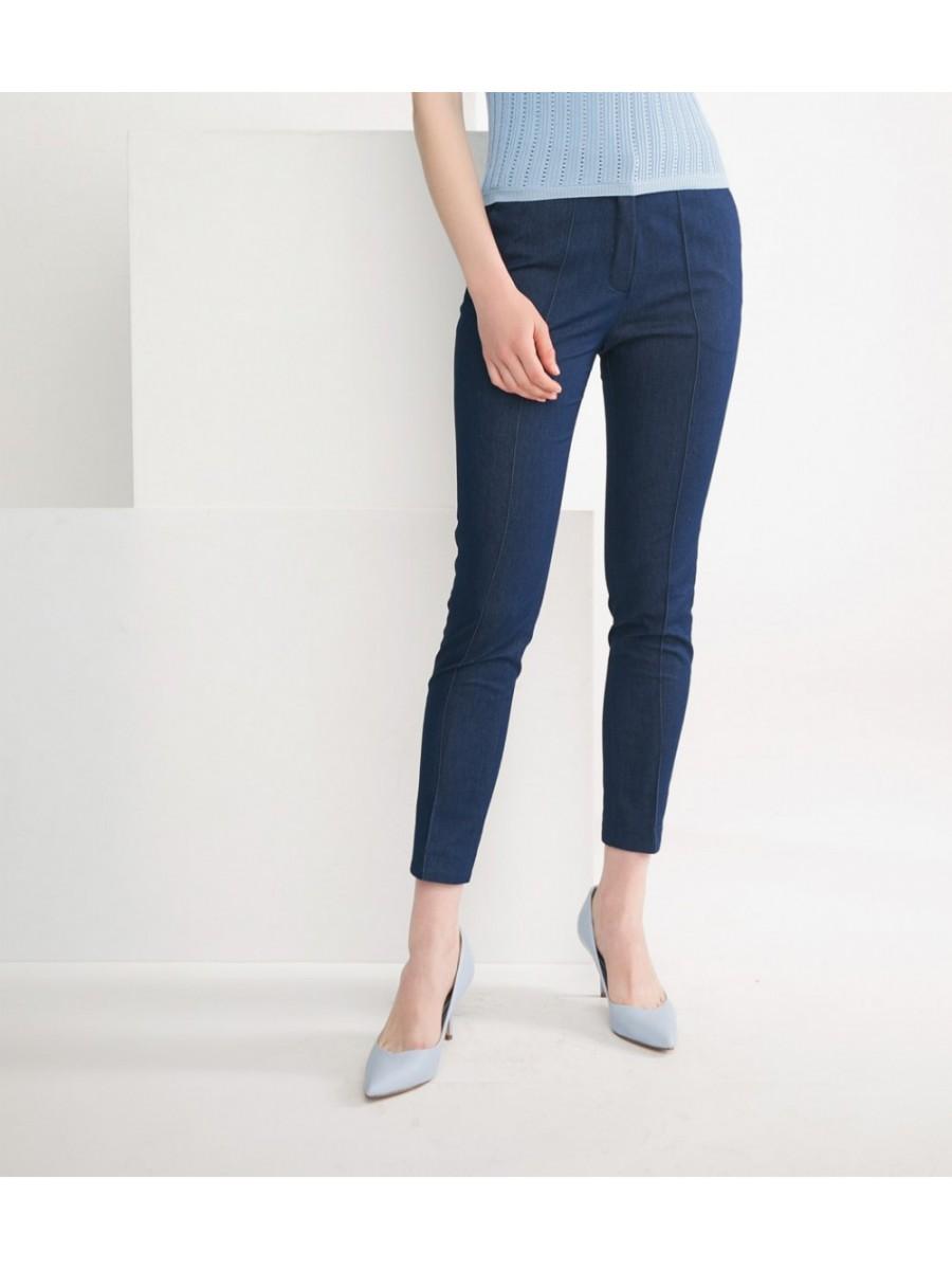 Брюки джинсовые со стрелками