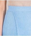 Юбка Caribe двойная; голубая