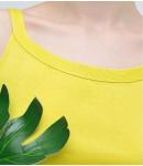 Майка Fresco; лимонный